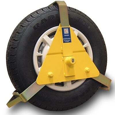 Stronghold 5434 Wheel Clamp 10 - 14 Inch Maypole New