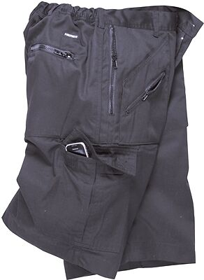 Action Shorts - Navy - Large Portwest S889NARL New