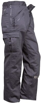 "Action Trousers - Navy - 32"" Waist (Tall) Portwest S887NAT32 New"