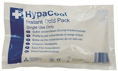 Hypacool Standard Instant Cold Pack Safety First Aid Q2290PK12 New