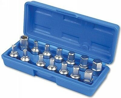 Drain Plug Key Set - 14 Piece Laser 3175 Genuine Top Quality New
