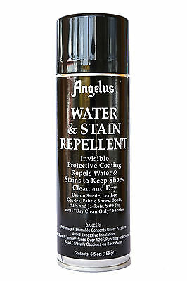 Angelus Water & Stain Repellent for Leather, Nubuck & Fabric - Invisible 5.5 oz