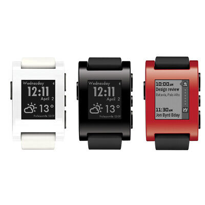 Pebble 301 Classic Smart Watch iPhone iOS Samsung Android Fitness Schlaf Tracker
