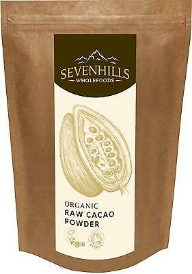Organic Raw Cacao Powder | Chocolate Detox, Baking - by Sevenhills Wholefoods