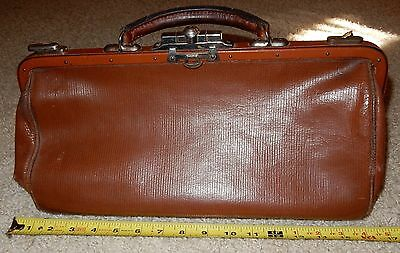 OLD Vintage Doctor's Bag Doctor AS IS