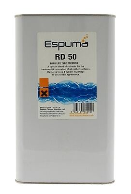 Espuma 0314-05 RD50 Long Life Tyre Dressing (5Ltr) New