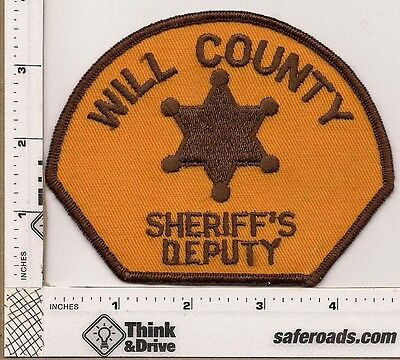 Will County Sheriff's Deputy. llinois.