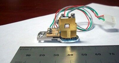 Laser Optic Diode Array with mounted tiny LASER CRYSTAL    D