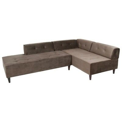 Chaise lounge Ceos gris