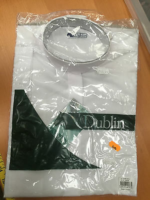 "Dublin Childs Tie Shirt White Short Sleeved 28"" Chest 332675"