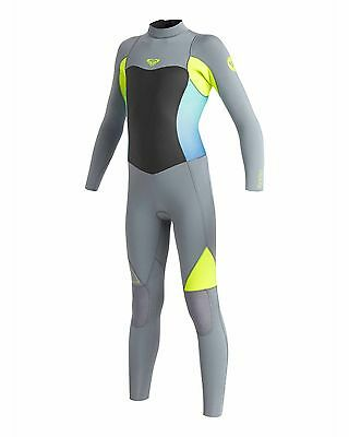 NEW ROXY™  Girls 2-14 Syncro 3/2mm GBS Steamer Wetsuit Teens Surf