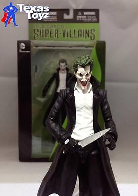 DC Comics New 52 JOKER Trenchcoat Action Figure 7in. DC Direct =LIVE= in stock