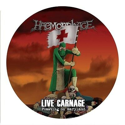 Haemorrhage - Live Carnage: Feasting On Maryland  Vinyl Picture Lp New!