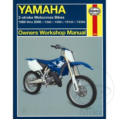 haynes manual no 2662 motorbike motorcycle for yamaha yz 250 86 06 rh picclick co uk Clymer Repair Clymer Outboard Manuals