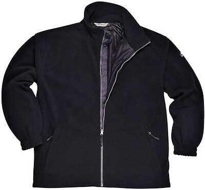 Windproof Fleece - Black - Small Portwest F285BKRS New