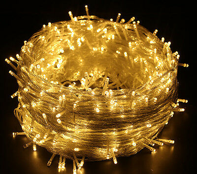 50/100 Meter 250/500 LED String Fairy Lights Indoor/Outdoor Xmas Christmas Party