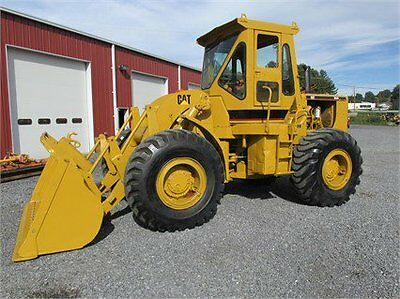 1972 CAT 950 WHEEL LOADER FULL CAB RUNS WORKS GREAT  Wheel Loaders