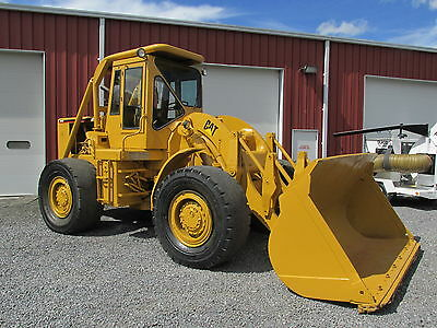 Caterpillar 966C Wheel Loader Dozer Full Cab Needs Water Pump Make Offer
