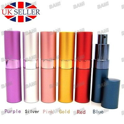 15ml Perfume Aftershave Atomizer Atomiser Bottle Pump Travel Refillable Spray UK