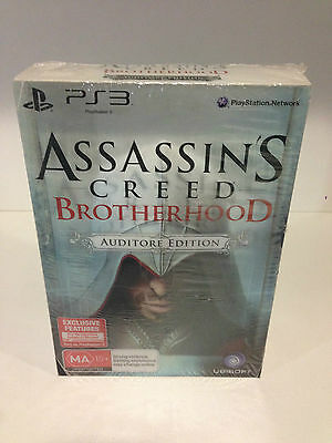 Brand New!! Assassin's Creed: Brotherhood (Auditore Edition) (Sony PS3, 2010)