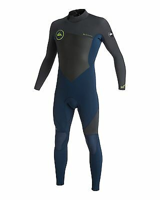 NEW QUIKSILVER™  Mens Syncro 4/3MM GBS Steamer Wetsuit Surf