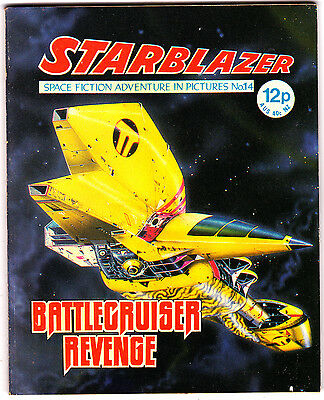Starblazer #14 , Space Fiction Adventure , Oct 1979 , DC Thompson , VERY FINE