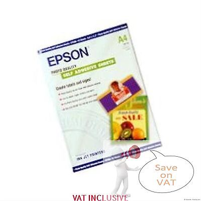 S041106 self-adhesive- A4-167g/m²-10 Sheets EPSON PAPER