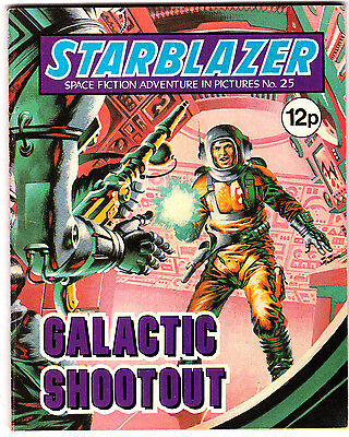 Starblazer #25 , Space Fiction Adventure , May 1980 , DC Thompson , VERY FINE