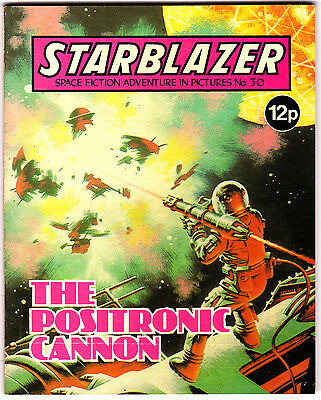 Starblazer #30 , Space Fiction Adventure , Aug 1980 , DC Thompson , VERY FINE