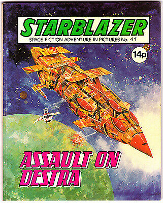 Starblazer #41 , Space Fiction Adventure , Jan 1981 , DC Thompson , VERY FINE