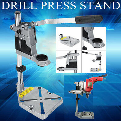 Universal Drill Press Stand with Heavy Duty Frame Metal Base 38/43mm Machine UK