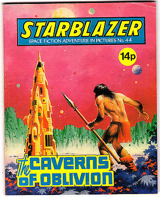 Starblazer #44 , Space Fiction Adventure , Mar 1981 , DC Thompson , VERY FINE