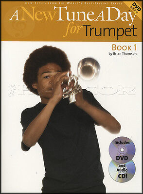 A New Tune A Day for Trumpet 1 Sheet Music Book with DVD and CD