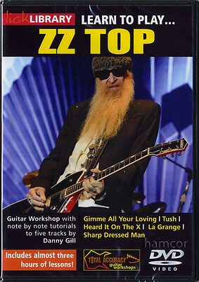 Learn To Play ZZ Top Lick Library Note-For-Note Guitar Tuition DVD by Danny Gill