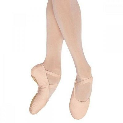 Pink canvas Freed/ roch valley Starlite split sole ballet shoes - all sizes