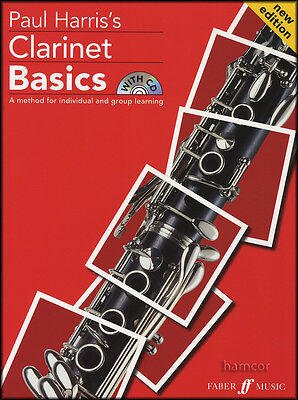 Paul Harris's Clarinet Basics Music Book/CD Pupil's Learn How to Play Method