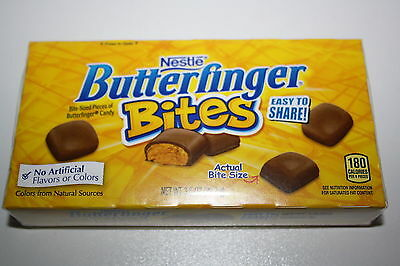 2 x Nestle's Butterfinger Bites 99.2g each box
