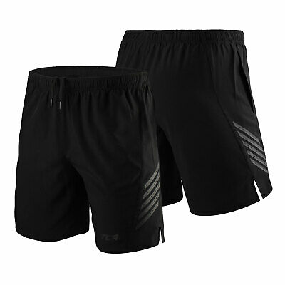 Mens & Boys TCA Training Shorts Gym Running Elasticated Fitness Zip Pockets Dry