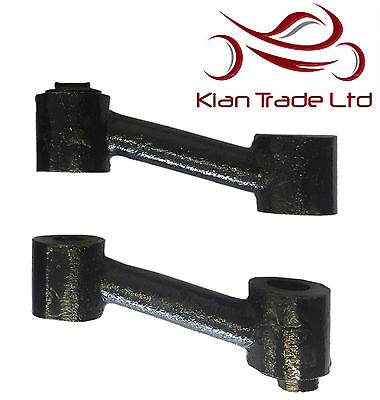 Royal Enfield Rear Folding Footrest Brackets - New High Quality Only Brackets