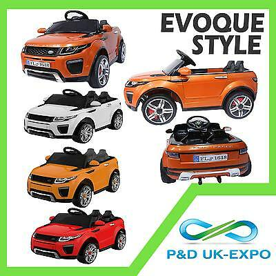 RANGE ROVER EVOQUE STYLE 12V Child's car ride on , Kids Electric Jeep