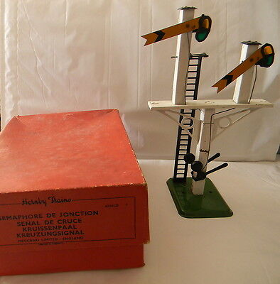 Hornby O Gauge No. 2 Junction Signal, Boxed