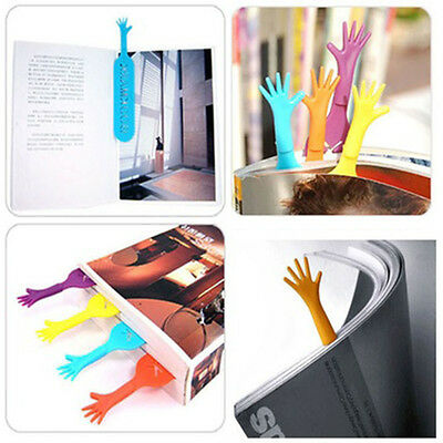 4pcs Sticker Bookmark Flags Ten Fingers Memo Sticky Notes Pad Stationery