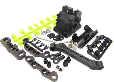 Kyosho Inferno MP9 TKI4 FRONT SUSPENSION IF439C (sway braces) TKI3 KYO33011B