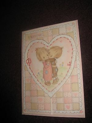 VTH Hallmark Adorable Betsey Clark Valentines Day Greeting Card New