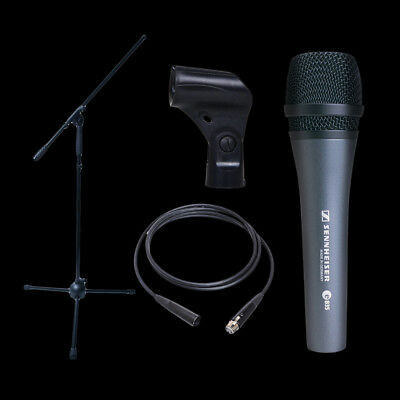 Dynamic Microphone Bundle- Sennheiser E835 Boom Stand and XLR Cable!