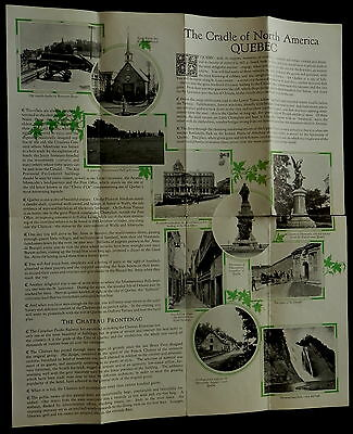 1926 QUEBEC Travel Brochure CANADIAN PACIFIC  MUST SEE !!!!!!