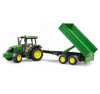 Bruder Toys 02108 Pro Series John Deere 5115m Tractor Tipping