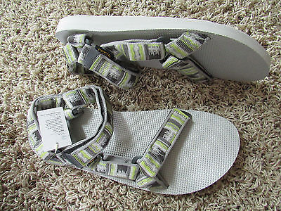 2006e6103978 New Teva Original Universal Strappy Tie Sandals Mens 11 Inca Gray Free Ship