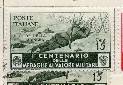 Italy 1934 Early Issue Fine Mint Hinged 15c. 091208