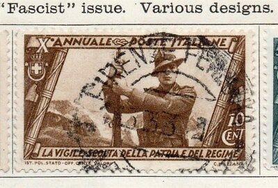 Italy 1932 Early Issue Fine Used 10c. 091243